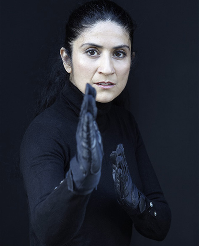 actrice iranienne comdienne orientale