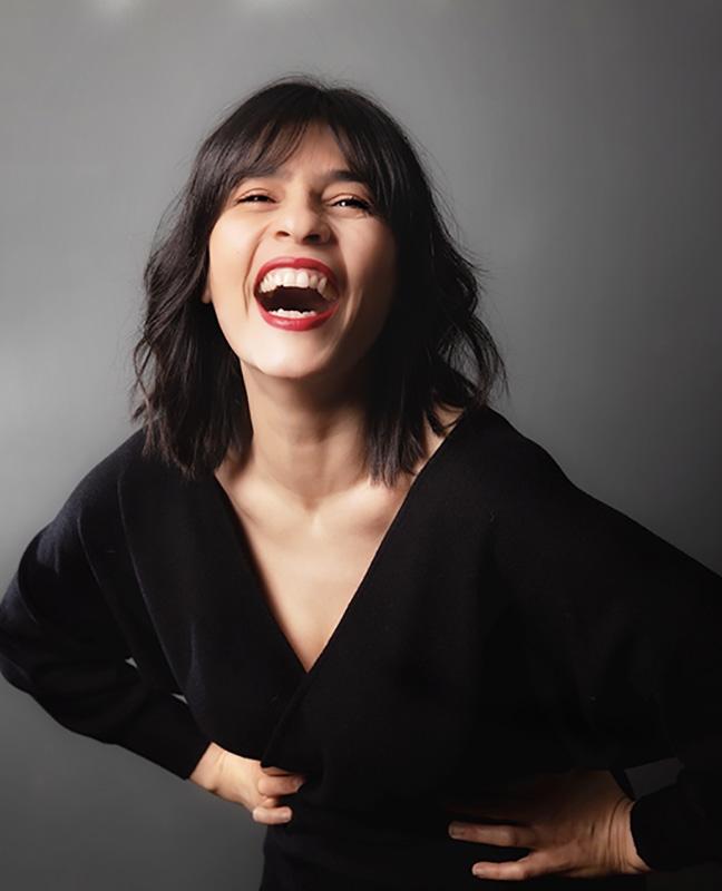 comédienne irano-belgue